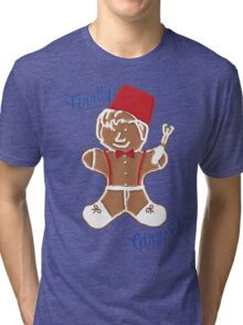 The 11th Doctor is Finally Ginger! Tri-blend T-Shirt