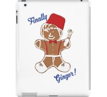 The 11th Doctor is Finally Ginger! iPad Case/Skin