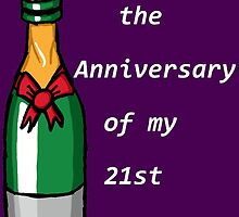 The Anniversary of my 21st B-day by Infernoman