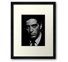 The Godfather - I know it was you, Fredo. Framed Print