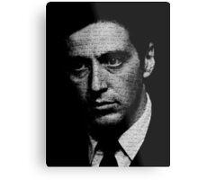 The Godfather - I know it was you, Fredo. Metal Print