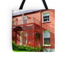 Glebe House From The Back Tote Bag