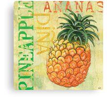 Froyo Pineapple Canvas Print