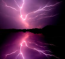 Cloud to Cloud Lightening by Tim Scullion