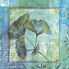 Spa Gingko Postcard 2 by Debbie DeWitt