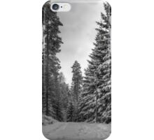 Winter in Forsheda's track II iPhone Case/Skin