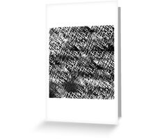 Grungy (white) Greeting Card