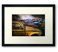 Cars Again Framed Print
