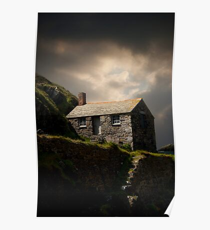 Cove House View Poster
