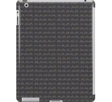 Vintage Dragster bike pattern iPad Case/Skin