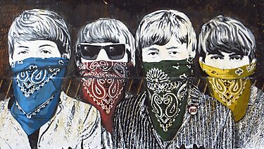 The Beatles by Mr Brainwash by James1980