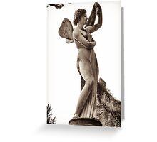 goddess venus bathing Greeting Card