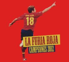 La Furia Roja - Spain Euro 2012 by Hoidy10