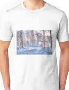 Winter in Forsheda's track I Unisex T-Shirt