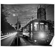 Audubon Park Streetcar Poster