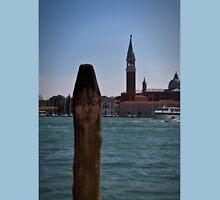 Venetian painted mooring post Unisex T-Shirt