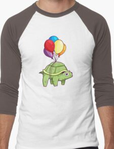 Turtle - Balloon Fun Men's Baseball ¾ T-Shirt