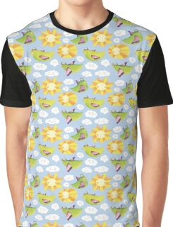 Birds & suns Graphic T-Shirt