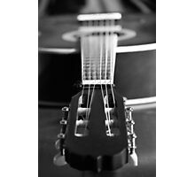Accoustic Classical Guitar Photographic Print