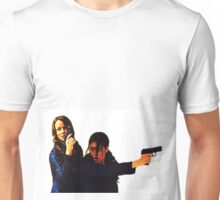 "Person of Interest ""Root & Shaw"" (Re-Color) Unisex T-Shirt"