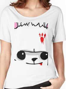 Castle Crashers Bear Face Women's Relaxed Fit T-Shirt