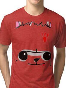 Castle Crashers Bear Face Tri-blend T-Shirt