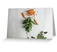 Howdy Y'all Tiger Lily Greeting Card