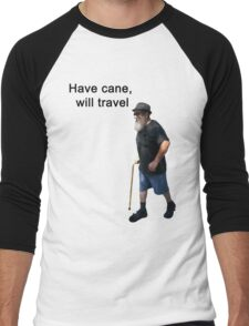 Have cane, will travel Men's Baseball ¾ T-Shirt