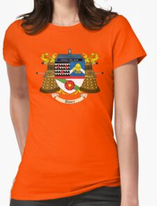 Doctor Who Coat of Arms Womens Fitted T-Shirt