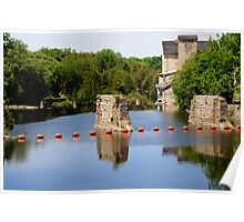 The Elora Mill on The Grand  Poster