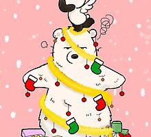 Panda And Polar Bear Christmas Tree by Panda And Polar Bear