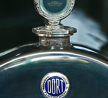 1923 Dort Sport Hood Ornament and Emblem by Jill Reger
