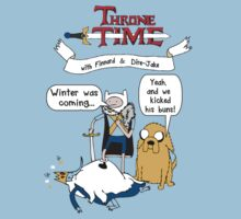 Throne Time with Finnard and Dire-Jake