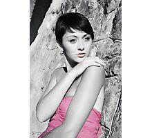 Imaginary girl Photographic Print