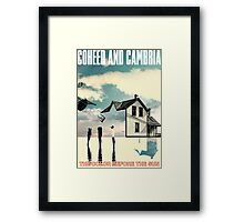 Coheed and Cambria the color before the sun Framed Print