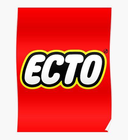 LEGO x ECTO logo v2 Poster