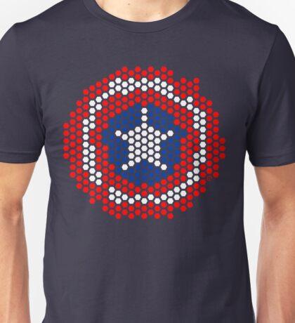 Hexgrid Shield Unisex T-Shirt