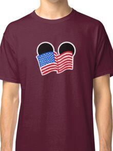 American Flag Ears Classic T-Shirt