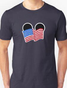 American Flag Ears Unisex T-Shirt