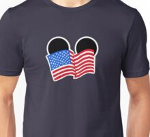 American Flag Ears Unisex T-Shirt