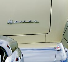 1954 Kaiser Manhattan Rear Emblem by Jill Reger