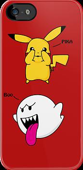 Pika-Boo by Bradalee