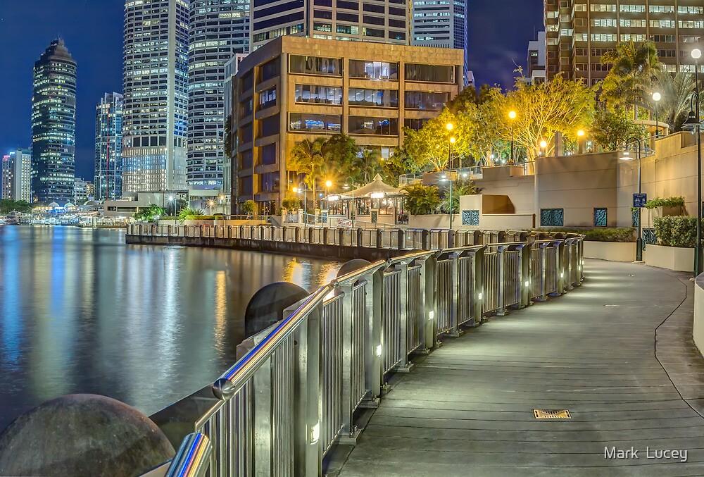 The Broadwalk by Mark  Lucey