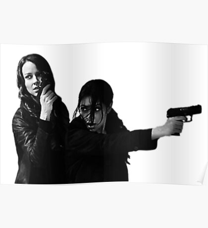 "Person of Interest ""Root & Shaw""  Poster"