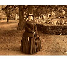 Julia Boggs Dent Grant - Re-enactor Player at Ringwood Manor Photographic Print
