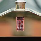 1926 Rolls-Royce Silver Ghost Pall Mall Tourer Hood Emblem by Jill Reger