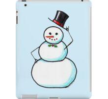 Snow Gentleman iPad Case/Skin