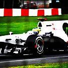 White Formula 1 by Luke Donegan