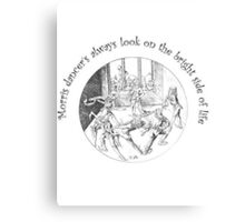 Morris Dancer's Always Look On The Bright Side Of Life Canvas Print