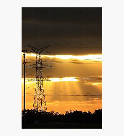 Power Of The Sun Photographic Print